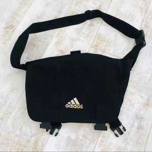 Adidas black laptop, briefcase,messenger, bag